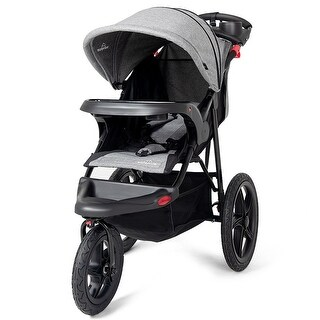 Baby Jogger Foldable Lightweight Infant Baby Stroller Jogger All-terrain w/ Cup Phone Holder