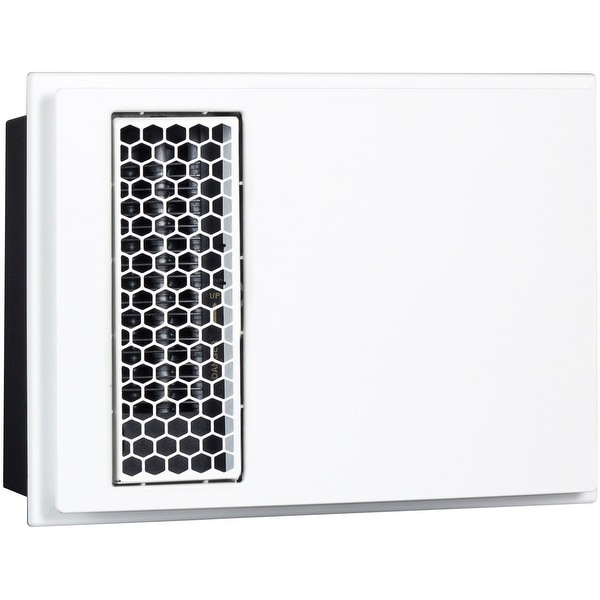 Cadet Apex72 ACH Decorative Cover for Model HW with Hexagonal Outlet Grill - White