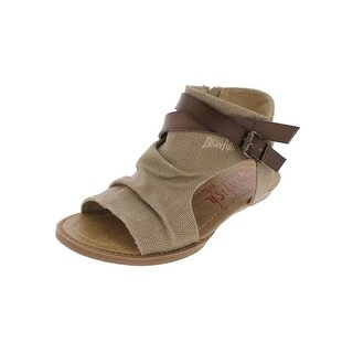 Blowfish Girls Balla Flat Sandals Open Toe Belted