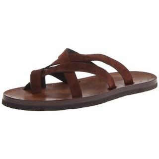 Dsquared2 Mens Leather Toe Loop Thong Sandals - 43.5 medium (d)
