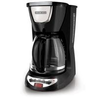 Spectrum Brands Dcm100b Black & Decker 2-Cup Programmable Coffeemaker W/Glass Carafe-Black
