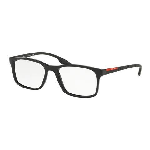 Prada Linea Rossa PS 01LV 1AB1O1 54 Black Man Pillow Eyeglasses