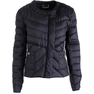 Juicy Couture Black Label Womens Ultra Light Down Puffer Jacket - XL