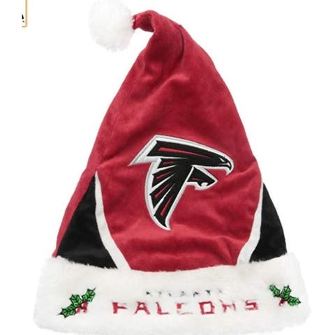 Atlanta Falcons Santa Hat Colorblock