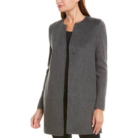 Kinross Wool & Cashmere-Blend Coat