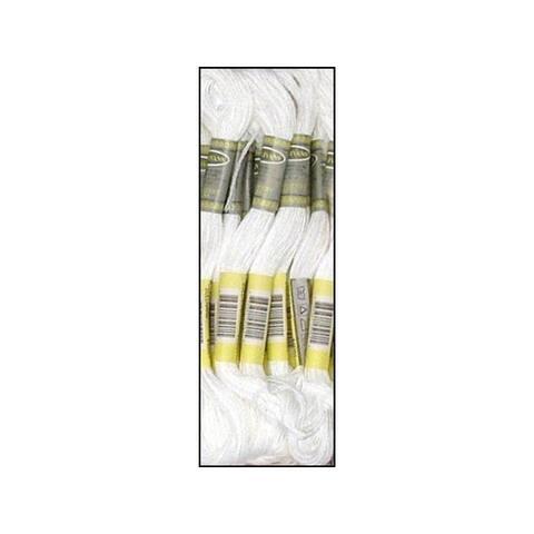 45001 sullivans emb floss 8 7yd white