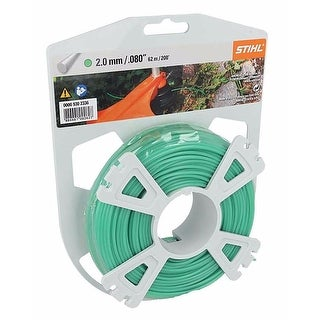 STIHL Strimmer/Trimmer Cutting line 2.0 mm x 62 m Round, Green