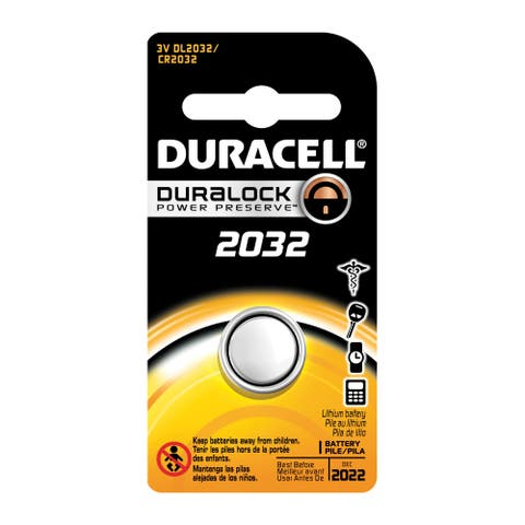 Duracell D4133330587 CR2032 3V Home Medical Lithium Battery