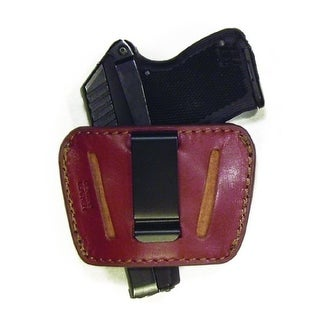 PSP Small-Medium Auto Slide Brown Leather Holster