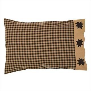 VHC Brands 19824 21 x 30 in. Dakota Star Pillow Case #44; Set of 2