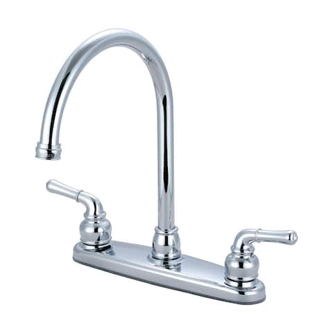 Olympia Faucets K-5340 Accent 1.5 GPM Widespread Kitchen Faucet with