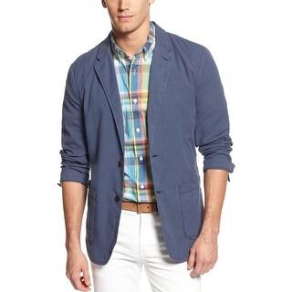 Tommy Hilfiger Duke Pincord Blazer X-Large Faded Blue Cotton Sportcoat