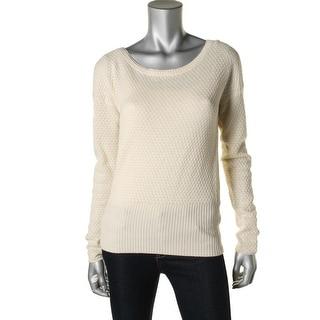 Three Dots Womens Silk Cashmere Blend Sweater