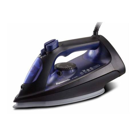 Panasonic Steam/Dry Iron with Curved Ceramic-Coated Soleplate & Glide