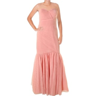 JS Collections Womens Tulle Prom Evening Dress
