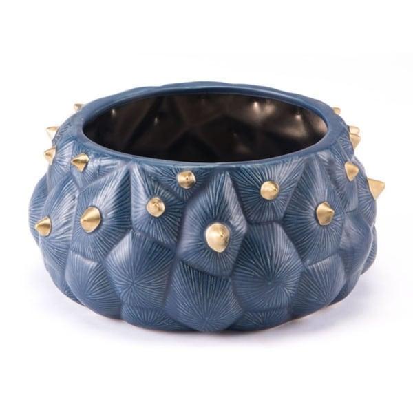 Breathtaking Bowl Blue & Gold