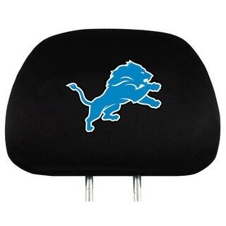Team Promark Detroit Lions Headrest Covers Set Of 2 Headrest Covers