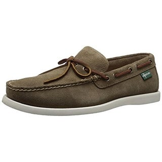 Eastland Mens Yarmouth 1955 Suede Contrast Trim Boat Shoes