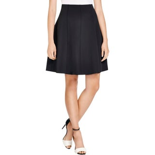 Theory Womens Igtios Flare Skirt Ponte Flare - S