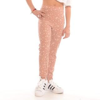 Star Printed Knit Legging