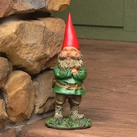 Sunnydaze Woodland Garden Gnomes - Style Options Available, Must Choose