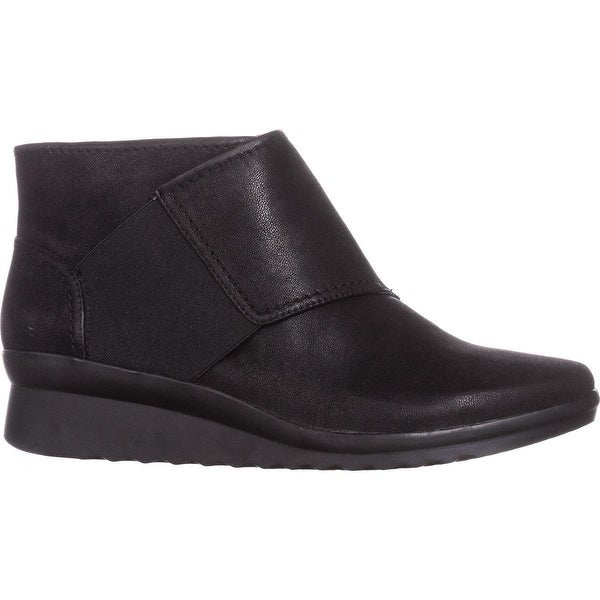 Black CLARKS Women/'s Caddell Rush Boot