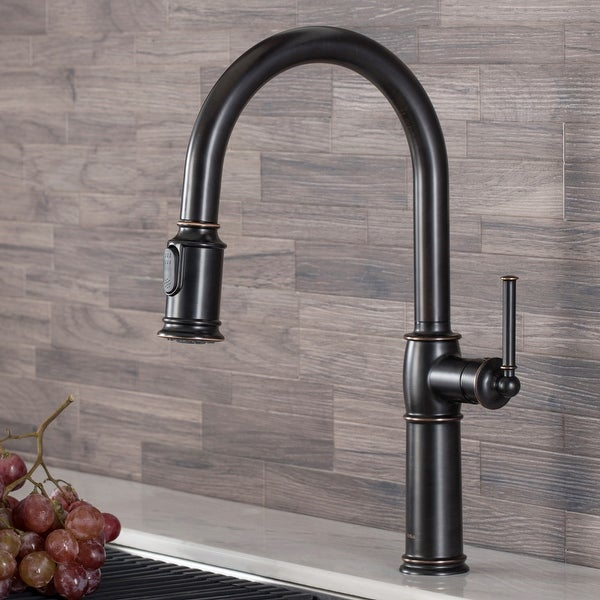 Kraus KPF-1682 Sellette 2-Function 1-Handle Pulldown Kitchen Faucet. Opens flyout.