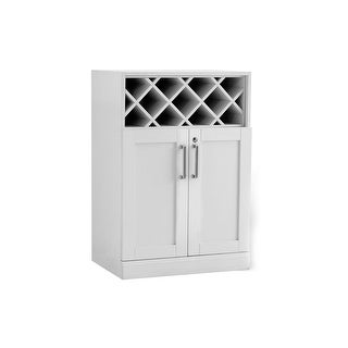 """NewAge Products Home Bar Series 16"""" Bottle Cabinet"""