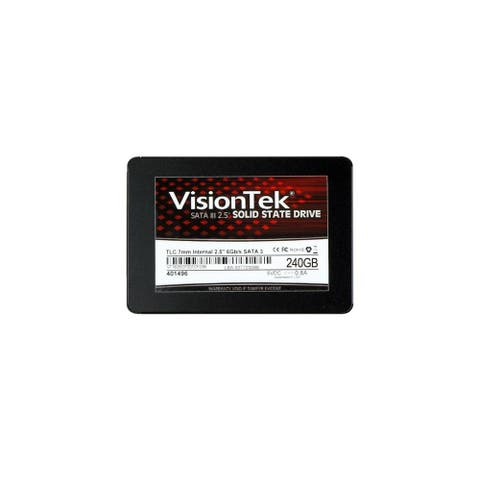 VisionTek 240GB TLC 7mm 2.5 Internal SSD - SATA 240 GB Internal SSD