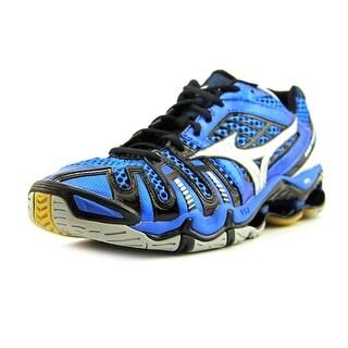 Mizuno Wave Tornado 8 Men Round Toe Synthetic Blue Running Shoe