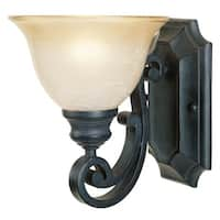 Designers Fountain 96101 Single Light Up Lighting Wall Sconce from the Barcelona Collection