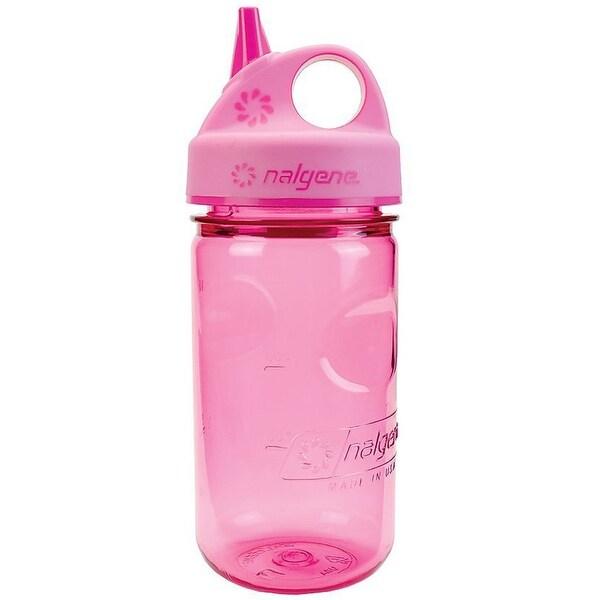 Nalgene Tritan Grip 'n Gulp Water Bottle - 12 oz. - Pink/Pink