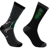 Rick and Morty Pickle 2-Pack Casual Crew Socks, 6-12