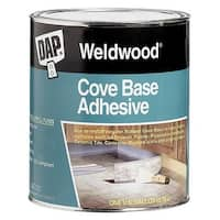 Dap Qt Cove Base Adhesive 25053 Unit: QT