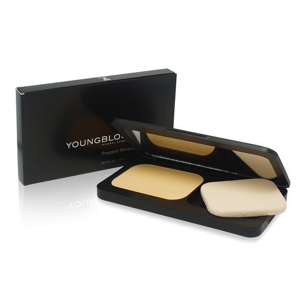 Youngblood Pressed Mineral Foundation Warm Beige 0.28 Oz