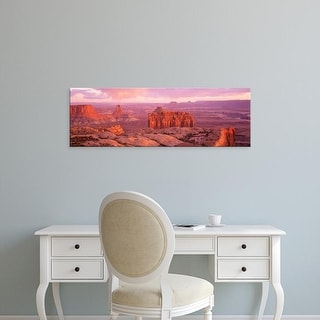 Easy Art Prints Panoramic Images's 'USA, Utah, Canyonlands National Park' Premium Canvas Art