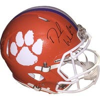 Deshaun Watson signed Clemson Tigers Riddell Speed Full Size Authentic Helmet 4 Beckett Hologram