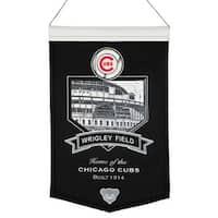 Chicago Cubs Banner Wool Stadium Wrigley Field