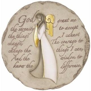 Spoontiques 12980 Angel W Serenity Prayer Step