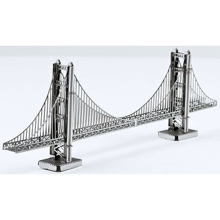 Metal Works Golden Gate Bridge 3D laser Cut Model