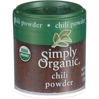 Simply Organic Chili Powder - (Case of 6 - 0.60 oz)