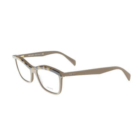 6ef8389ef407 Prada PR 17PV MA61O154 Taupe Cat Eye Optical Frames - 54-18-140