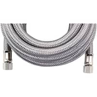 Certified Appliance Im180Ss Braided Stainless Steel Ice Maker Connector (15Ft)