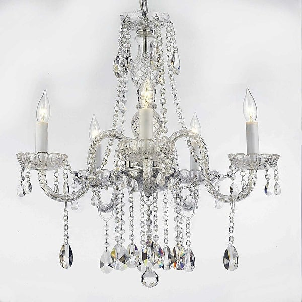 Swarovski Elements Crystal Trimmed Authentic Chandelier Lighting