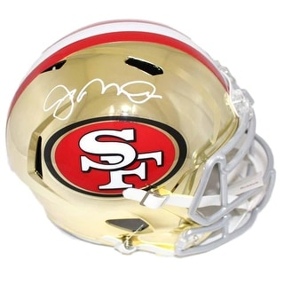460d387c102 Shop Joe Montana Autographed San Francisco 49ers Chrome Replica Helmet BAS  - Free Shipping Today - Overstock - 25762039