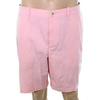 Penguin Light Pink Mens Size 38 Khakis Chinos Flat Front Shorts