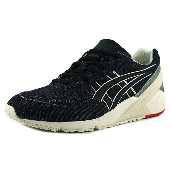 Asics Gel-Sight Men Round Toe Canvas Blue Sneakers