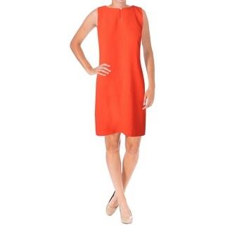 Lauren Ralph Lauren Womens Casual Dress Ponte Above Knee