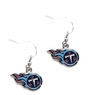 Tennessee Titans Dangle Logo Earring Set Charm Gift NFL