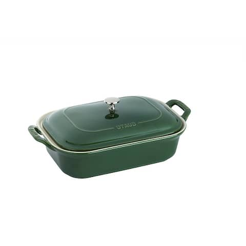 Staub Ceramic 12-inch x 8-inch Rectangular Covered Baking Dish - 12-inch x 8-inch